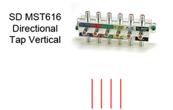 SD MST616 Directional Tap Vertical