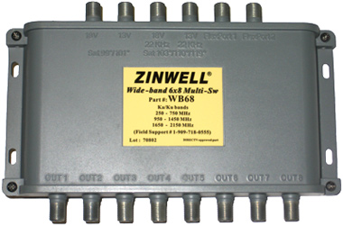 WB68_3_1 the directv multiswitch zinwell wb68, ms6x8wb z is an hd satellite zinwell multiswitch wiring diagram at crackthecode.co