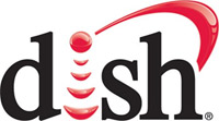 Dish network satellite dish lnb logo