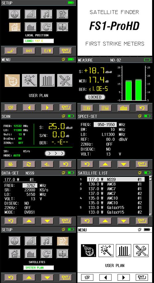 Fs1 On Spectrum >> First Strike Satellite Meter and Finder FS1 ProHD