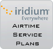 Iridium airtime service plans satellite phones