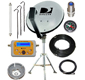 RV, Camping or Tailgating Portable Satellite Dish Kit