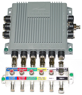 SWM-8 Convertion to a SWM-16 Switch multiswitch for Directv