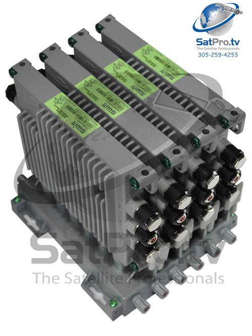 directv 4 dswm swm expander module rh satpro tv SWM 16 Multiswitch Wiring-Diagram DirecTV Genie Connections Diagram