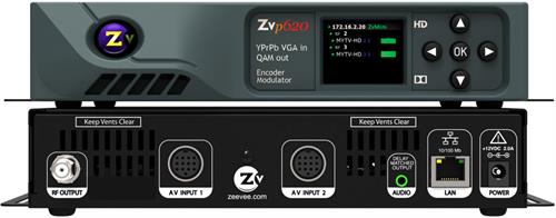 ZeeVee ZvPro 620i HD Video Digital Signage Over Coax Over-IP
