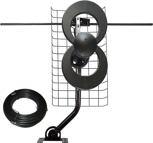 ClearStream 2V Long Range UHF VHF Antenna Combo Pack C2-J30V