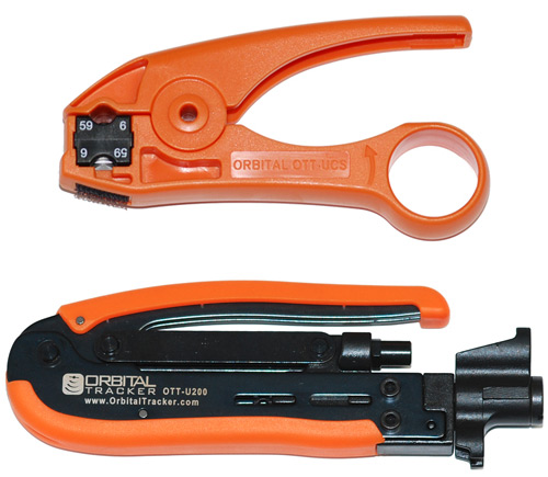 Coaxial Cable Stripper Coaxial Cable Stripper For Rg6 And