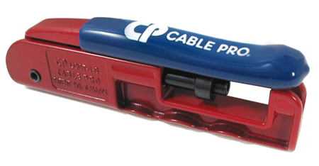 Cable Pro CPLCCT-1-S CATV Compression Tool RG6 RG59 RCA
