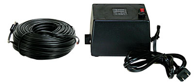 Power and 100 Feet Cable for HotShot Slimline Satellite Heater