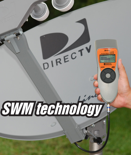 satellite signal meter max tracker plus otm 900 directv swm dish network ebay. Black Bedroom Furniture Sets. Home Design Ideas