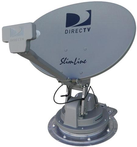 Winegard Directv Slimeline Satellite Antenna Sk 3005