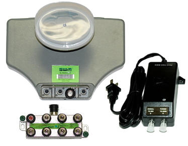 DIRECTV SWM SL3S Satellite LNB Kit with Power and Splitter