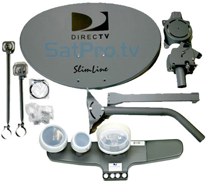 this is the directv swm slimline satellite dish kit. Black Bedroom Furniture Sets. Home Design Ideas