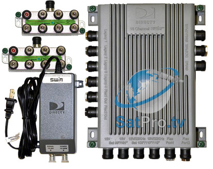 swm 16 single wire multi switch 16 channel swm from directv swm 16 multiswitch