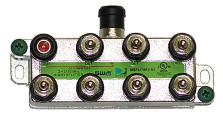 swm 8 way splitter
