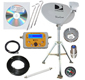 Directv satellite dish High Definition RV, Camping or Tail Gate Portable Satellite Dish Kit