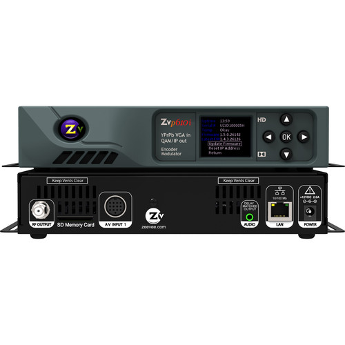 ZeeVee ZvPro 610i HD Video and Digital Signage Over Coax