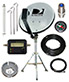 Directv 18 Dish Portable Satellite Kit for RV Camping Tailgating