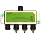 DIRECTV 4-Way Wide Band Splitter