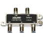 Holland GHS-4 Black Label 4 Way Splitter