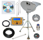 Directv High Definition RV, Camping or Tail Gate Portable Satellite Dish Kit