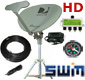 SWM 5 portable satellite dish SL5s