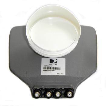 DIRECTV SL3 LNB Slimline Dish-Kit (4 Output)