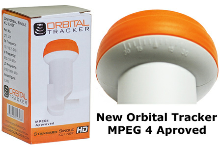 Orbital tracker Standard LNB single