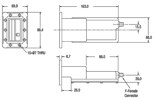 c band lnb circuit diagram norsat 8525r c band digital pro 4dtv dro pll commercial  8525r c band digital pro 4dtv dro