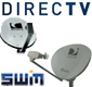 DirecTV Dishes and Mounting Brackets