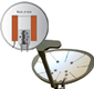 Satellite Dish Heaters for Snow and Ice