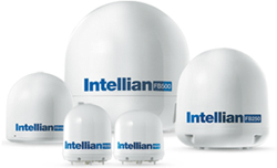 intellian f-series inmarsat satellige
