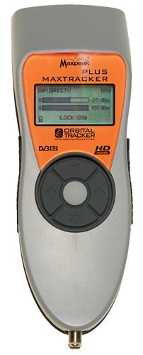 Max Tracker Plus Satellite Signal Meter LOCKED