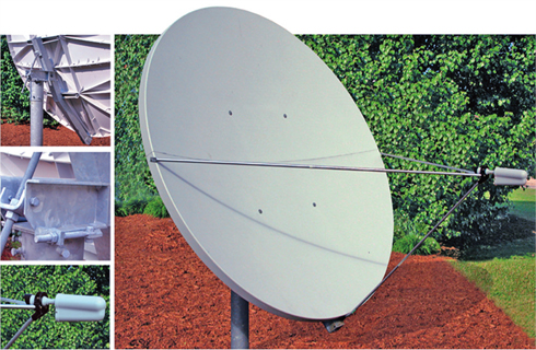 Satellite Dish 1.8 Meter Offset Ku