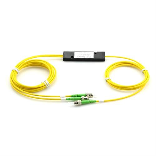 Multicom - Fiber Optic Splitter, Box, PLC, SC/APC, 1x2