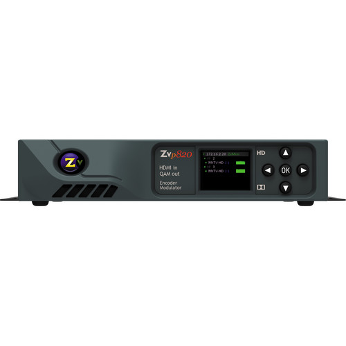 ZeeVee ZvPro 820 Dual Channel Unecrypted HDMI Encoder QAM