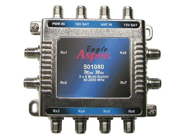 3x8 Mutliswitch by Eagle Aspen (501080) with Power Supply
