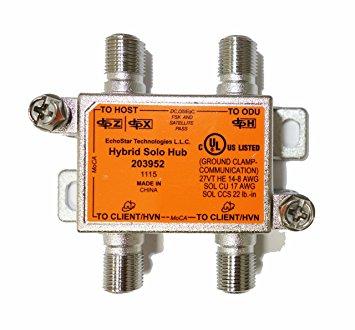 Dish Network Dish Pro Hybrid Solo Hub ES203952