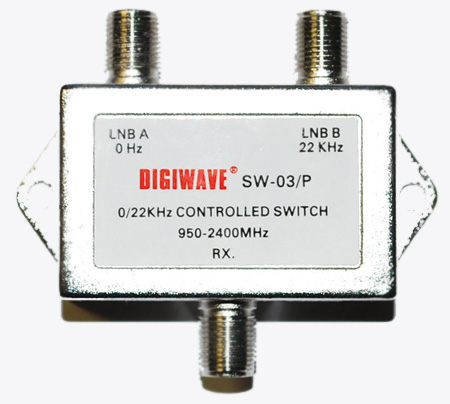 22KHz Controlled Switch Digiwave 22 KHz SW-03 P