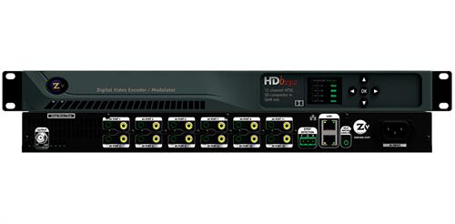 ZeeVee HDB2312 12SD Channel HDbridge Encoder   Modulator