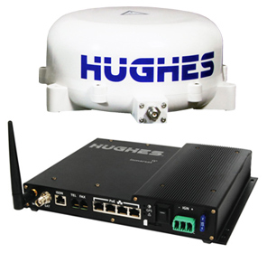 Hughes 9450-C11 BGAN Mobile Satellite Communications