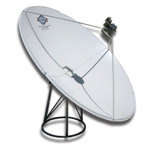 MUL-2.4M-W – 2.4 Meter Prime Focus C-Band Satellite Dish
