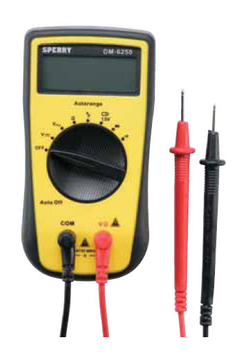 Sperry DM6250 Multimeter 7 Function