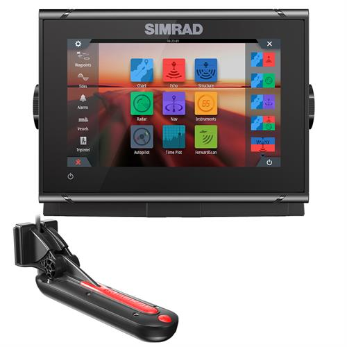 SIMRAD GO7 XSR COMBO W/TOTALSCAN TRANSDUCER