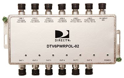 Directv Power Inserter, Polarity Locker