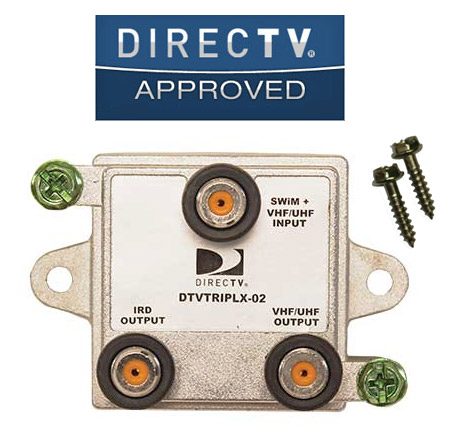 directv swm triplexer dtvtriplx 02 Dish 500 Installation Diagram