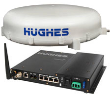 Hughes 9350-C10 BGAN Mobile Satellite Communications System