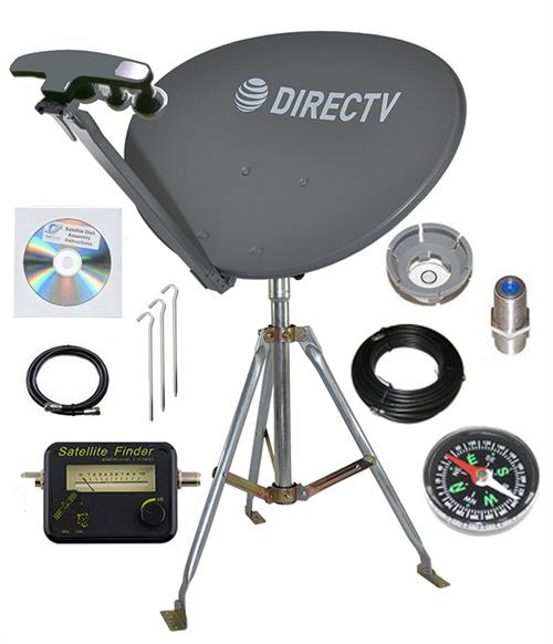 Directv SL5 LNB 4 Out. Portable Satellite RV Kit Camping Tailgating