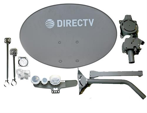 Directv SL5 Slimline Dish and LNB Kit 4 Output