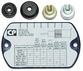 Belden LMTIP-Kit Tip Kit 4 Tips and Holder for LCCTSLM Tool